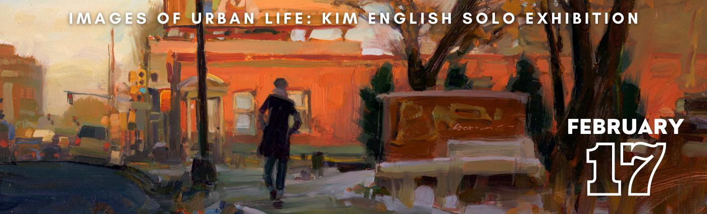 Kim English Solo Show Promo Image Banner