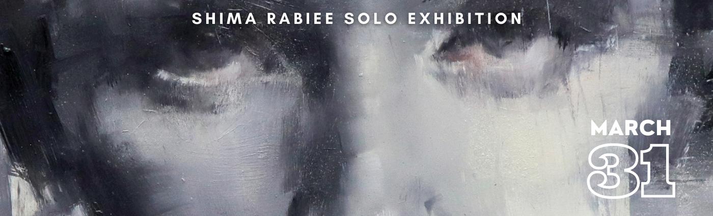 Shima Rabiee Solo Exhibition Promo Images