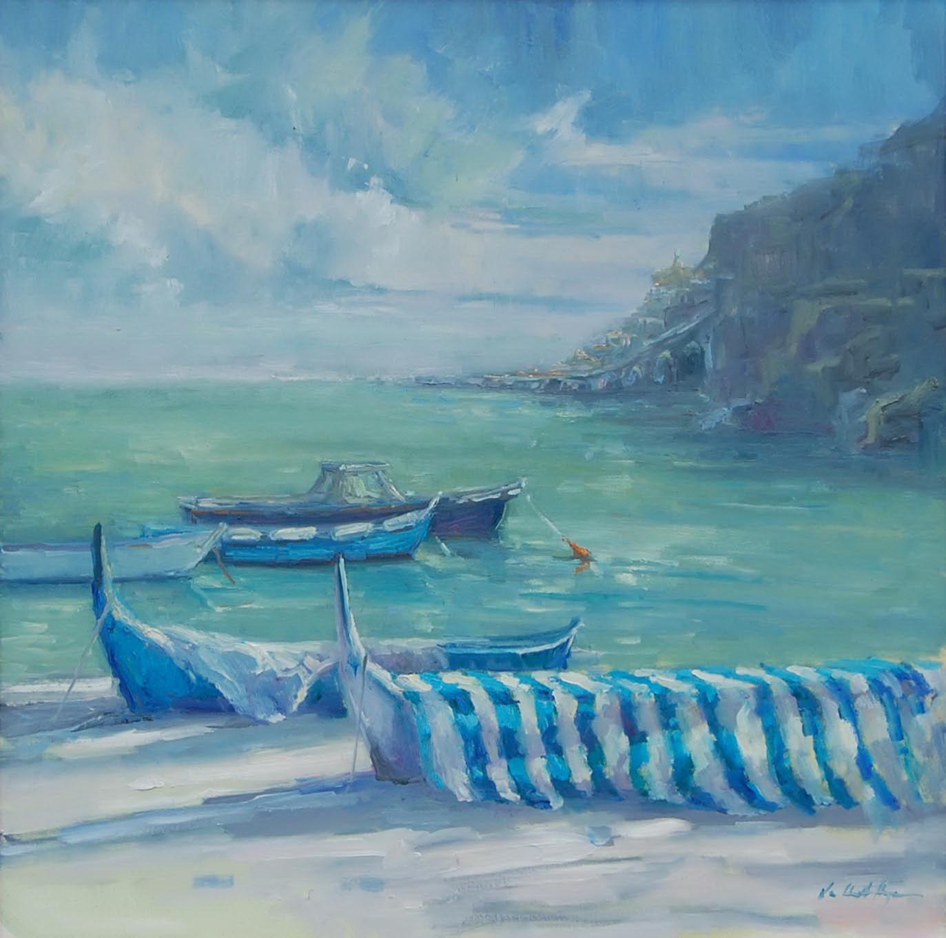 Amalfi Blues by Karen Hewitt Hagan