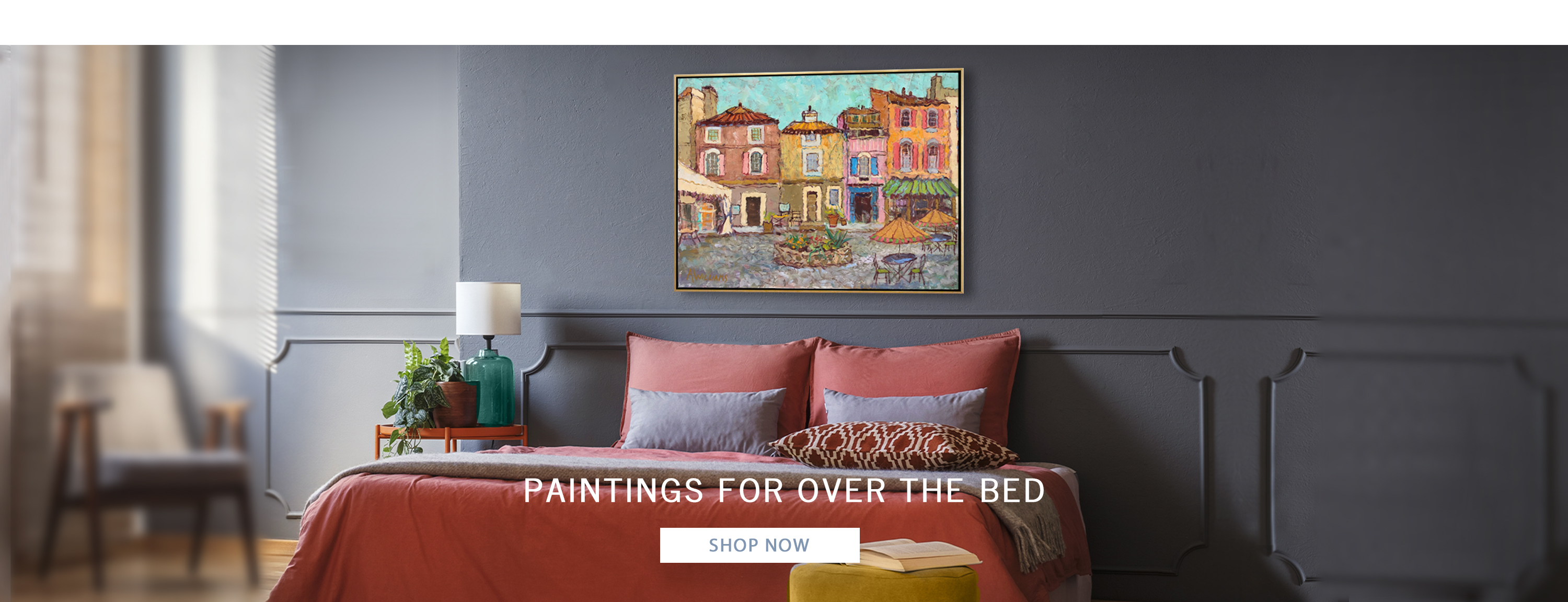 Paintings for over the bed
