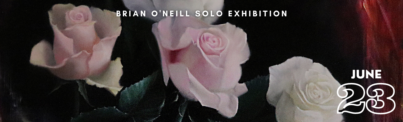 Brian O'Neill Solo Exhibition Promo Banner