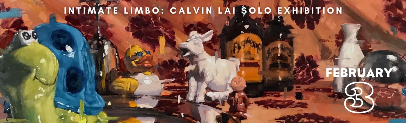 Calvin Lai Solo Show Promo Banner