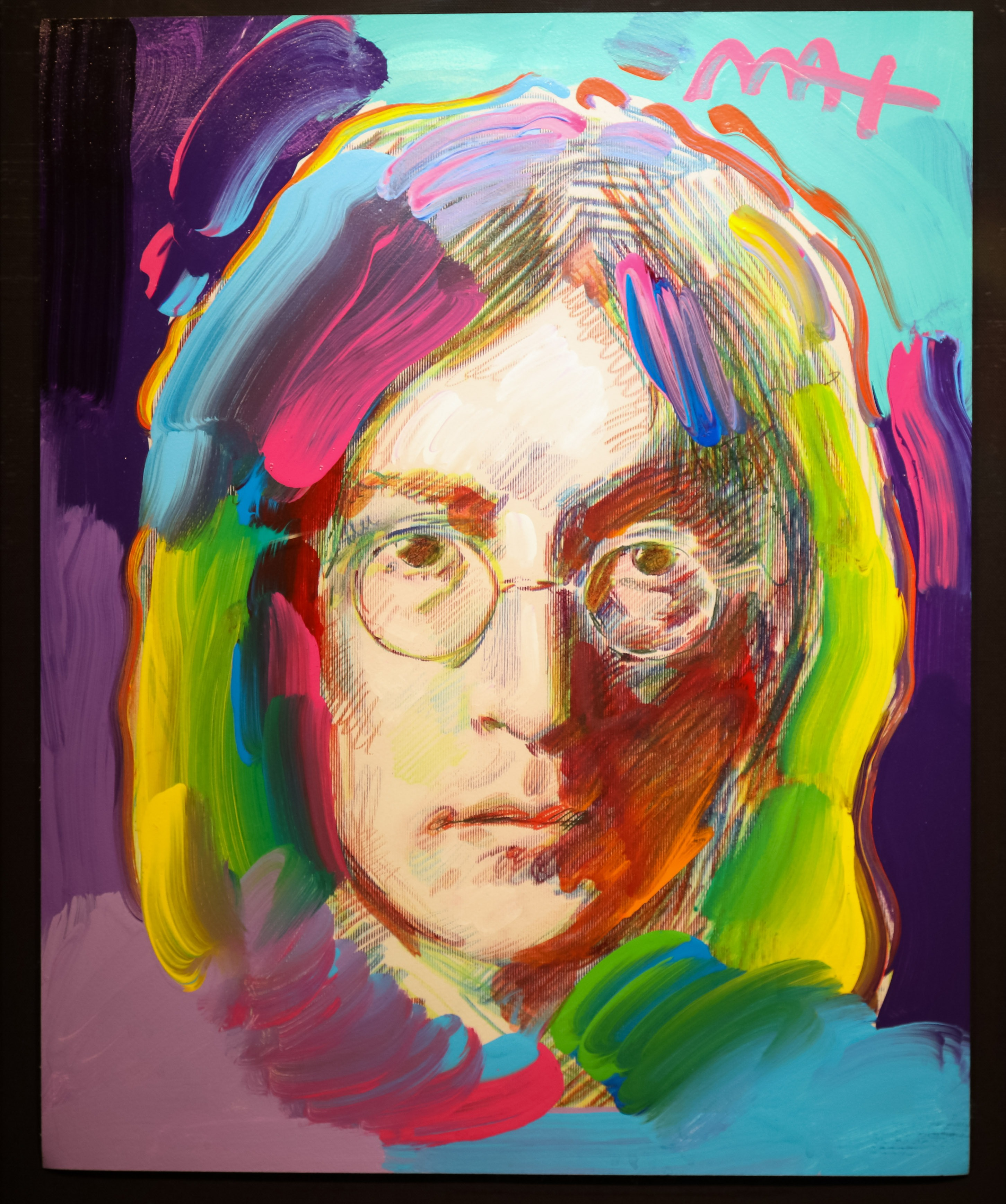 Portrait of John Lennon