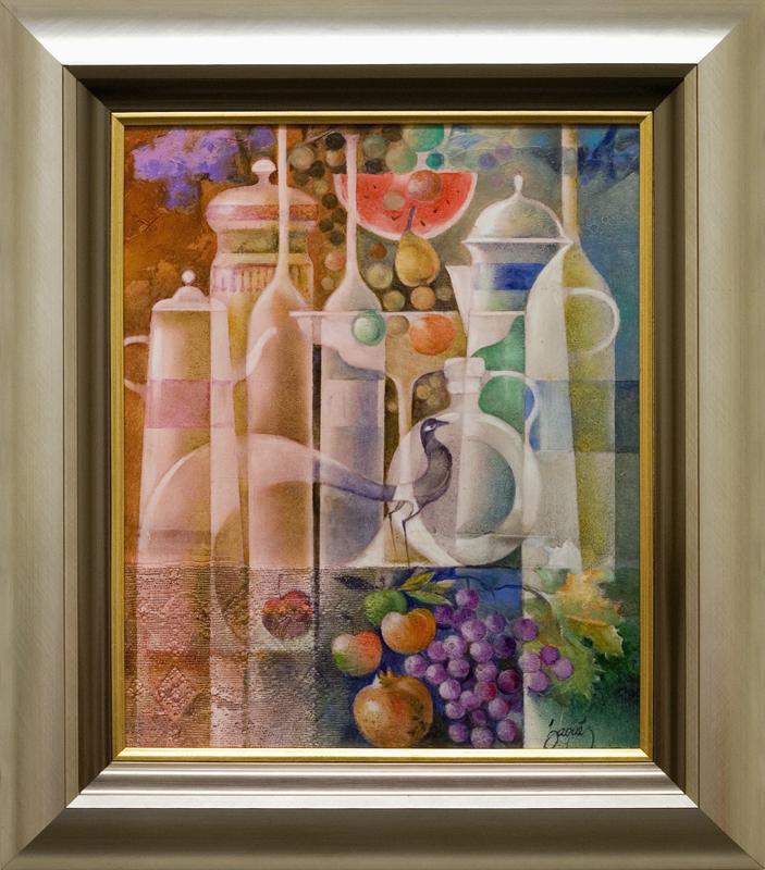 Bodego Amb Ceramiques I Fruites-EB- DP