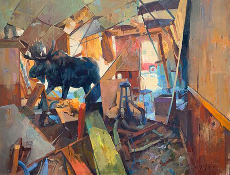Gallery_Wild_Larry_Moore_Artist_Painting_Michael