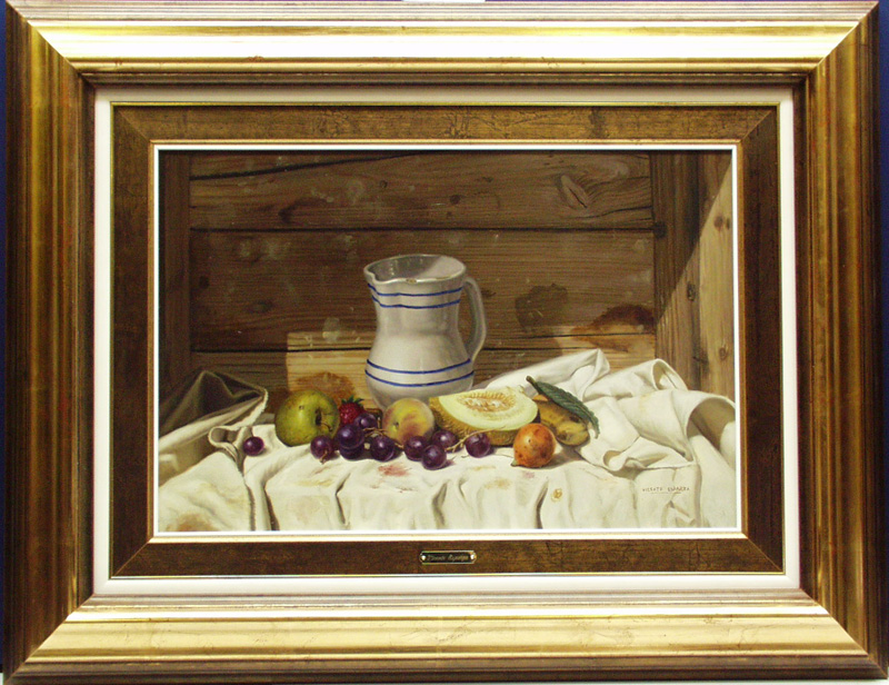 Still Life With Fruit And Delft Pitcher- dp
