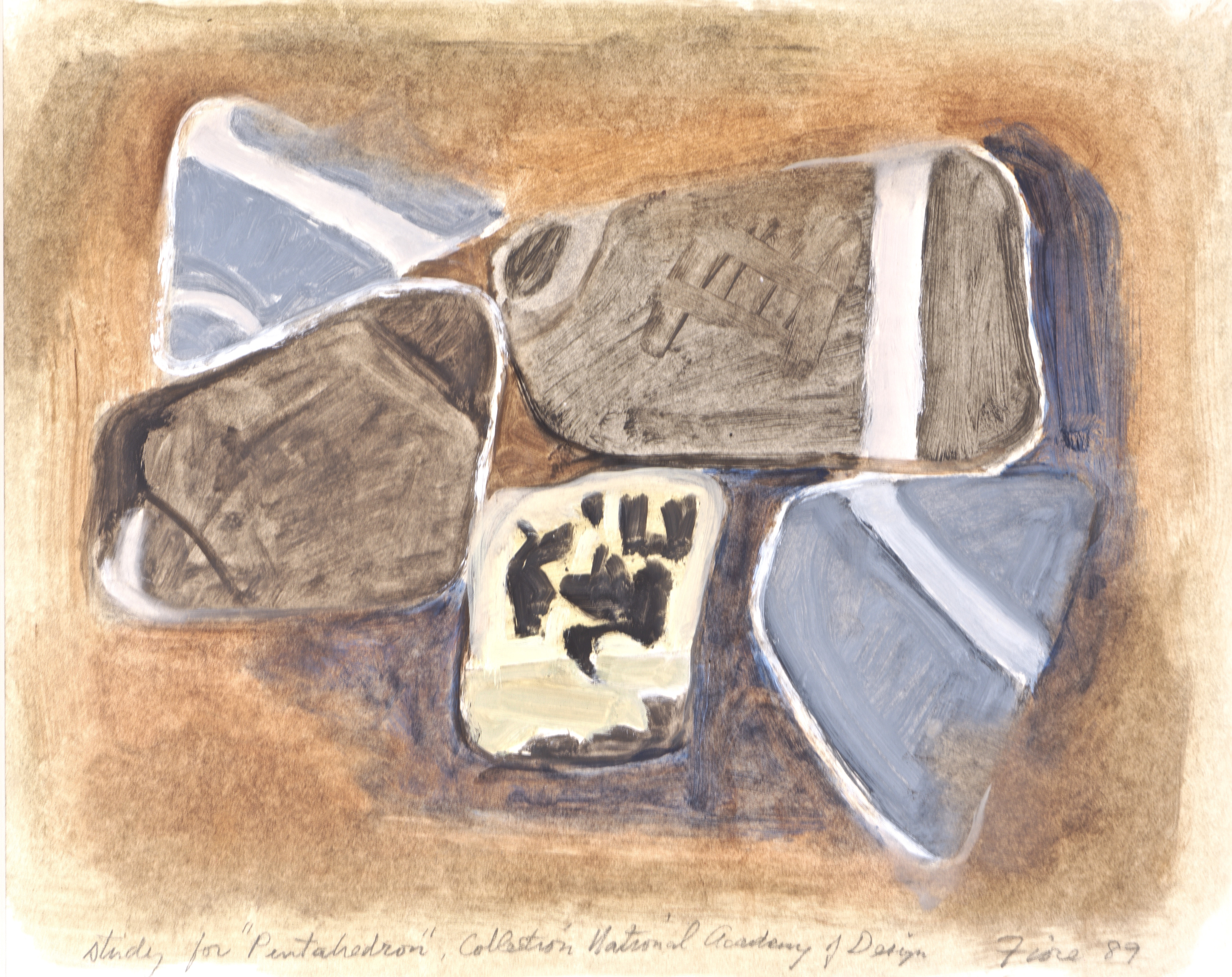 Study for Pentahedon Collection