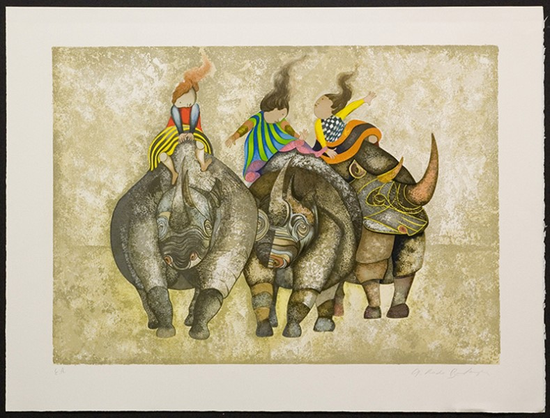 Trois Rhinoceros