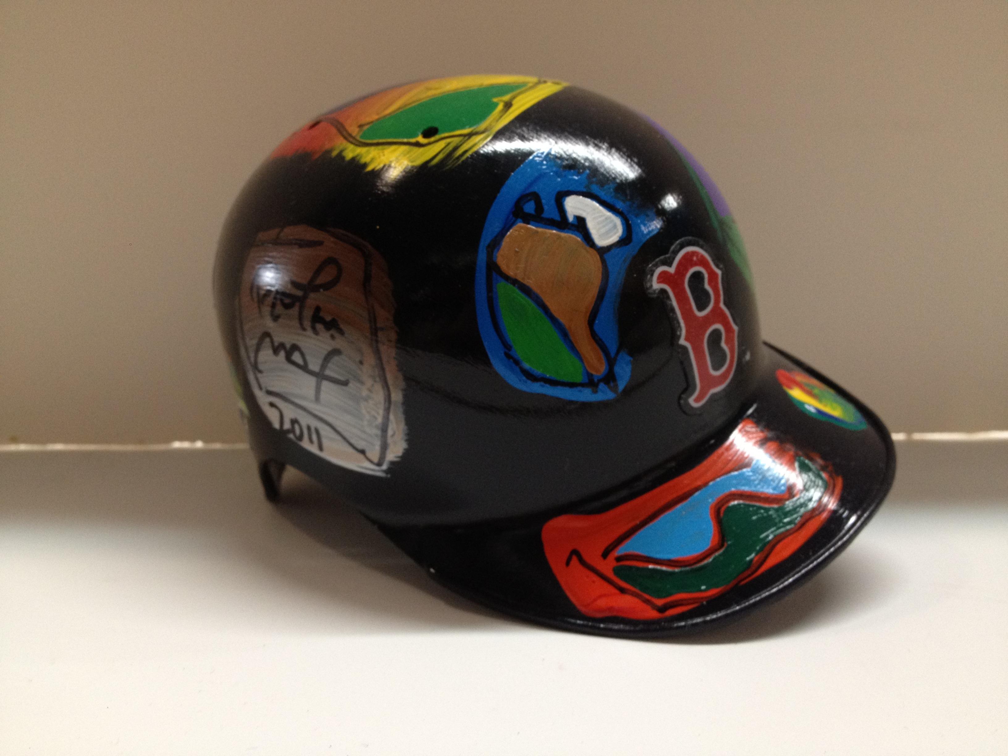 Boston Red Socks Helmet - Large