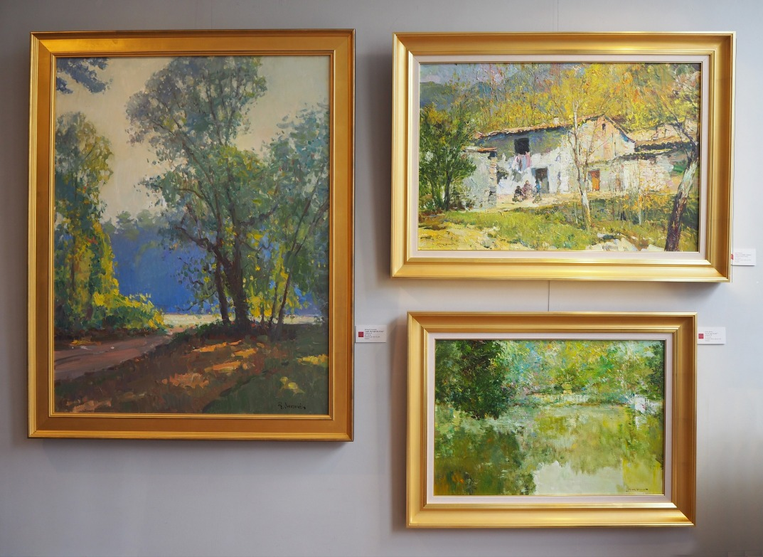 Image of a collection of paintings at Hagan Fine Art