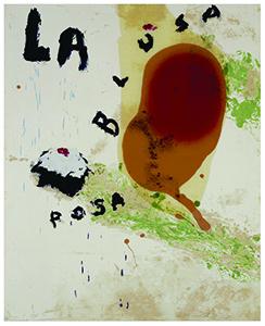 """Julian Schnabel, """"La Blusa Rosa 2"""""""