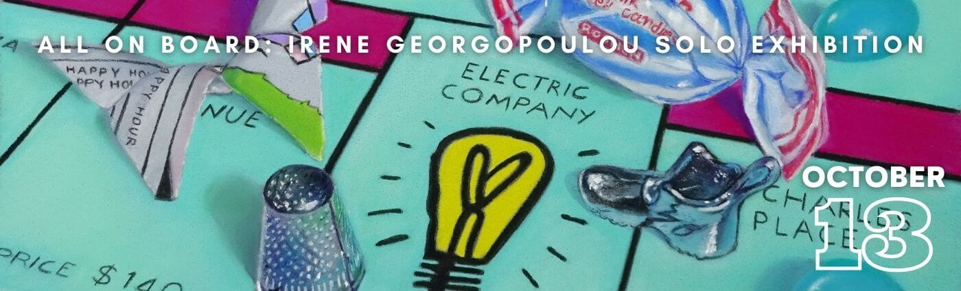Irene Georgopoulou Solo Exhibition promotional banner