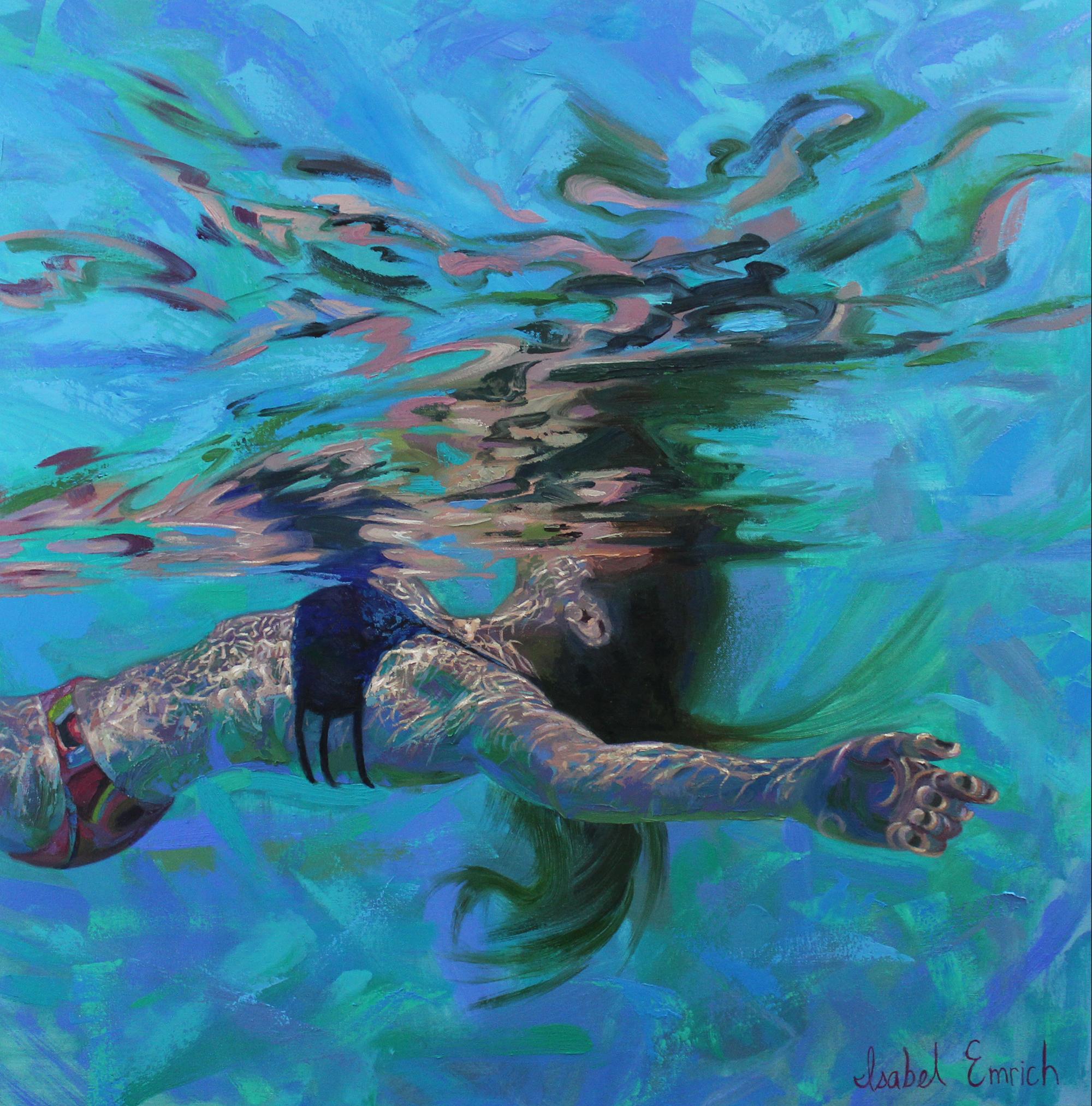 underwater painting easy - 736×745