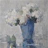 Hydrangeas in Blue Vase