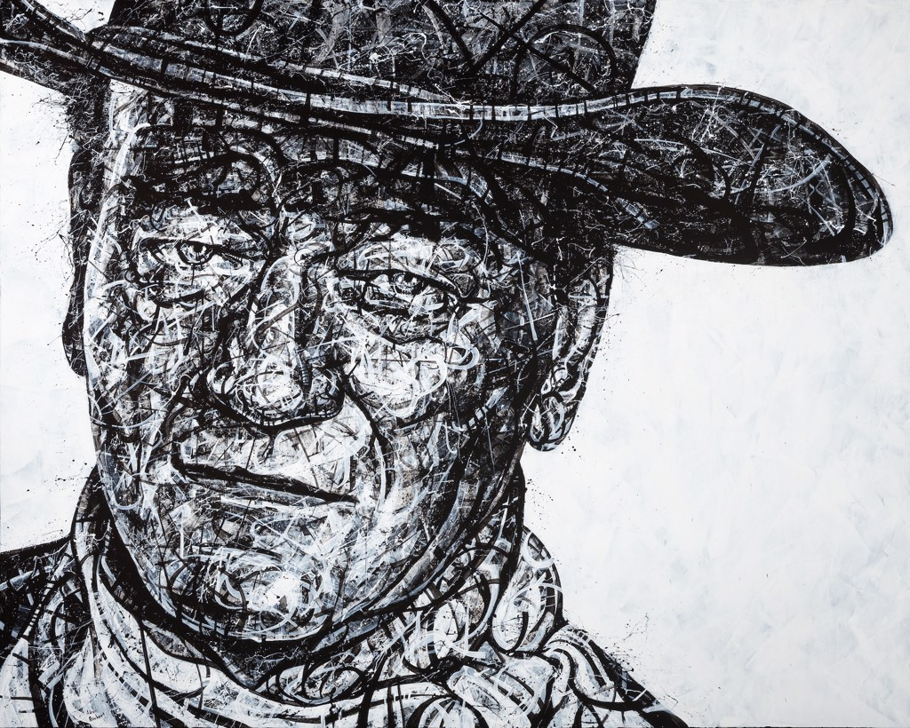 The Hell I Won't, John Wayne by Aaron Reichert