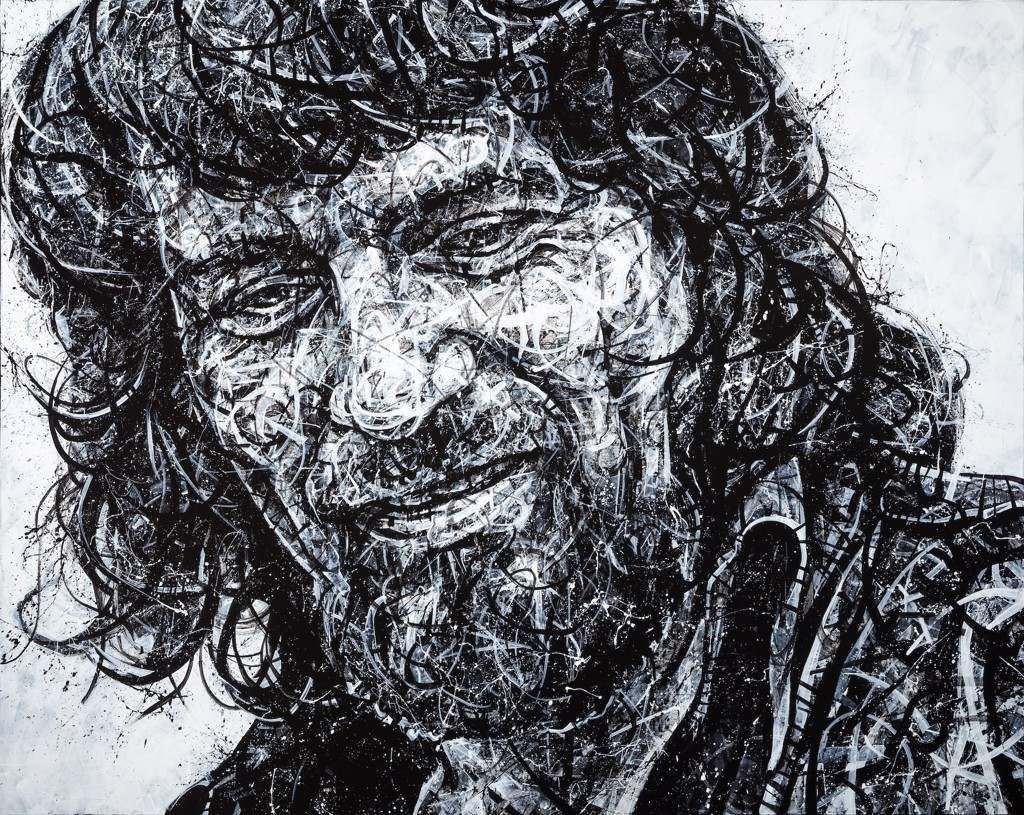 Waylon Jennings by Aaron Reichert