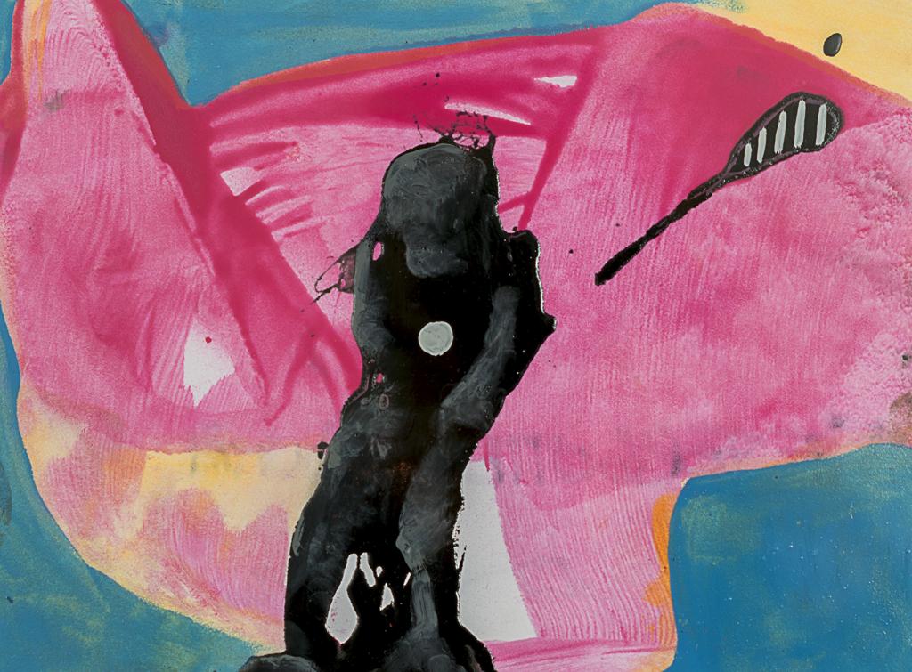 Forgotten Bum by Marcus Jansen (b. 1968)