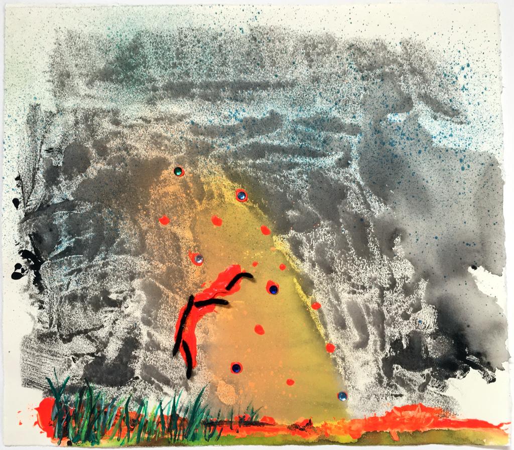 Atomic Frown by Vivian Liddell