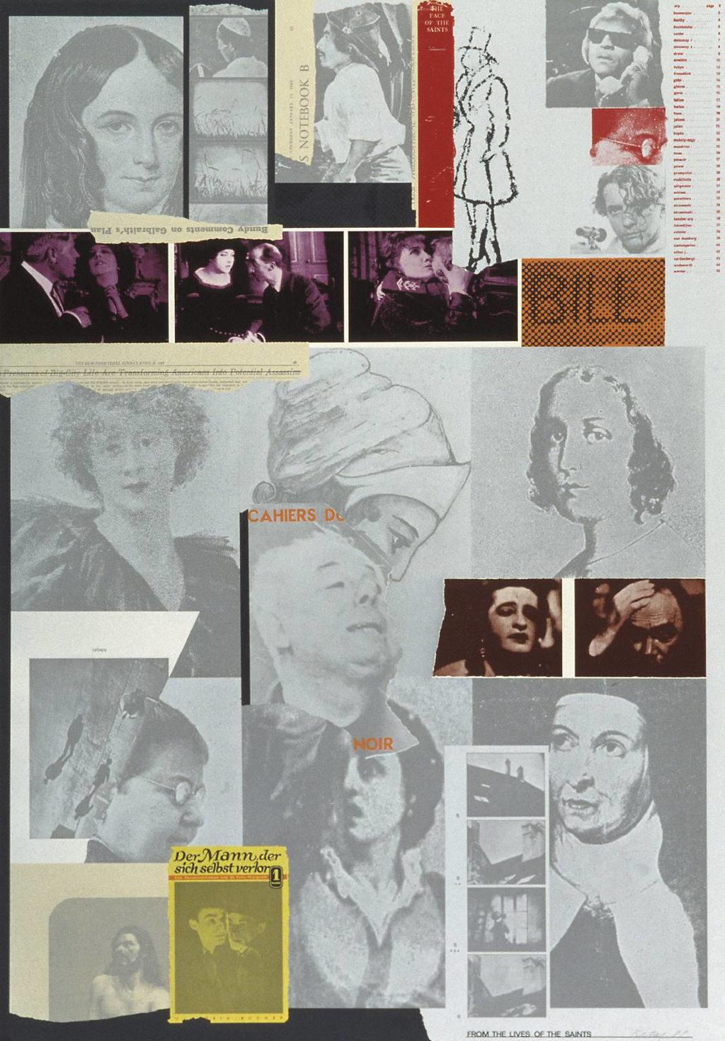 From the Lives of the Saints by R.B. (Ronald Brooks) Kitaj