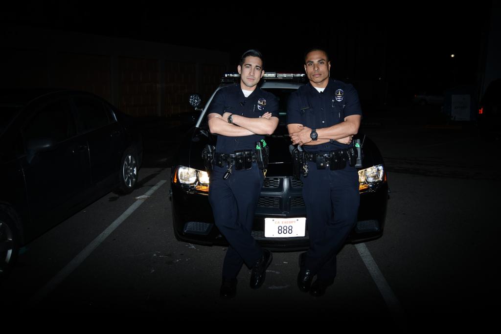 Policemen of Fairfax District by Rachel Berkowitz