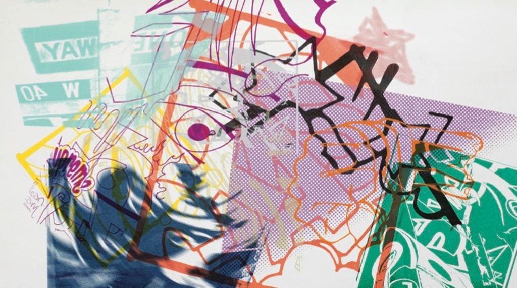 "Untitled (Car Monotype) by John ""Crash"" Matos"