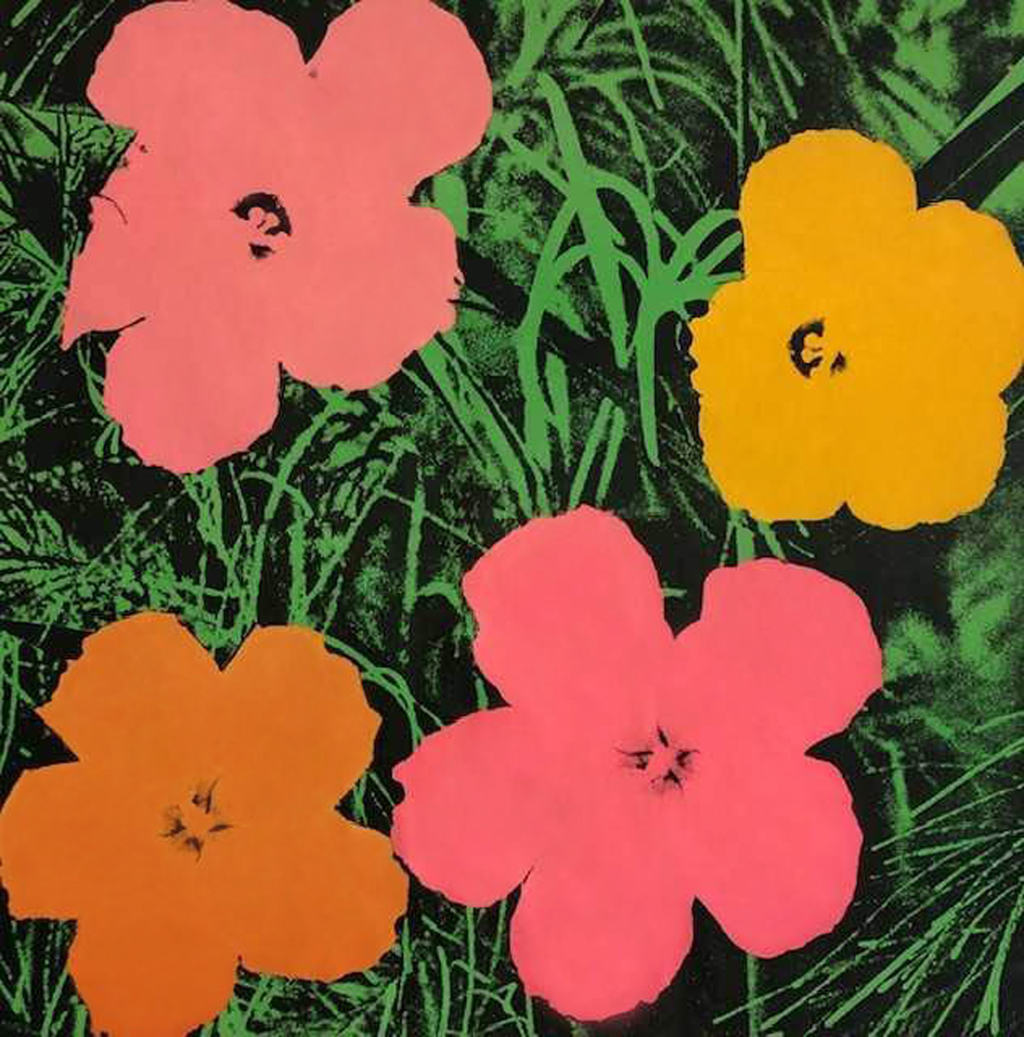 Flowers by Andy Warhol (1928 - 1987)
