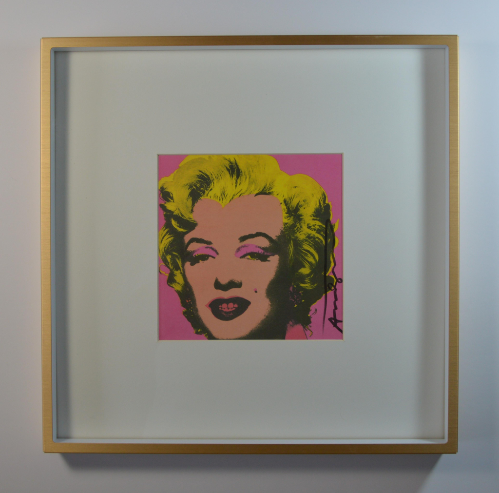 Marilyn (Announcement) by Andy Warhol (1928 - 1987)