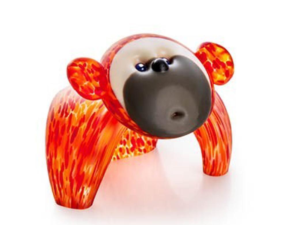KOONGY, object, orange 24-11-35 by Borowski