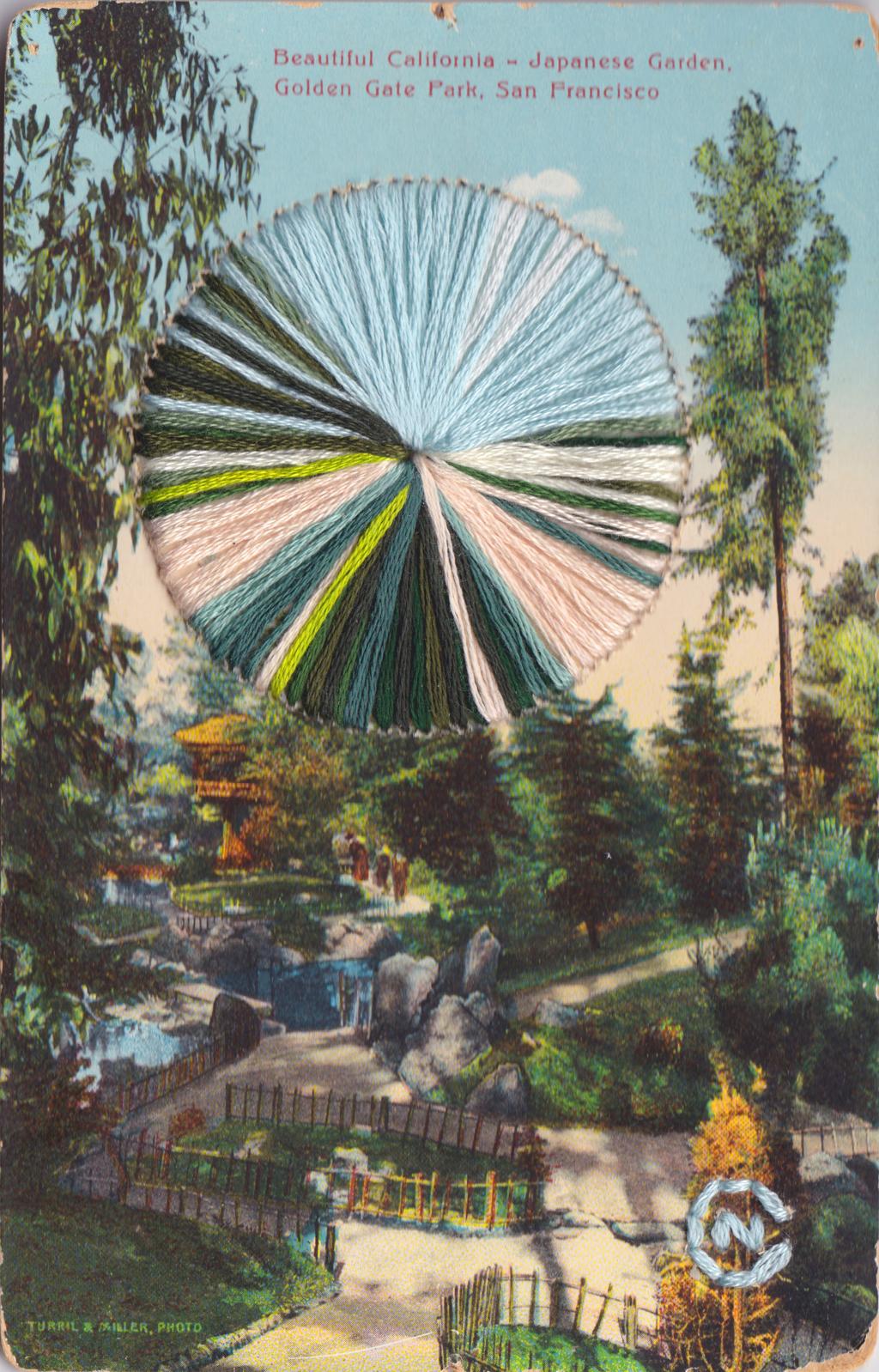 Japanese Garden by Natalie Ciccoricco