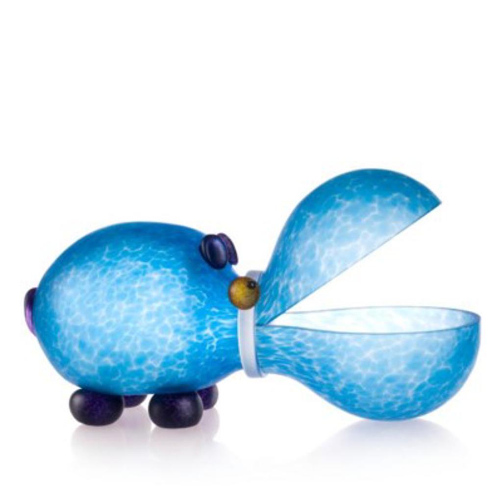 HIPPO, bowl, light blue 24-01-68 by Borowski