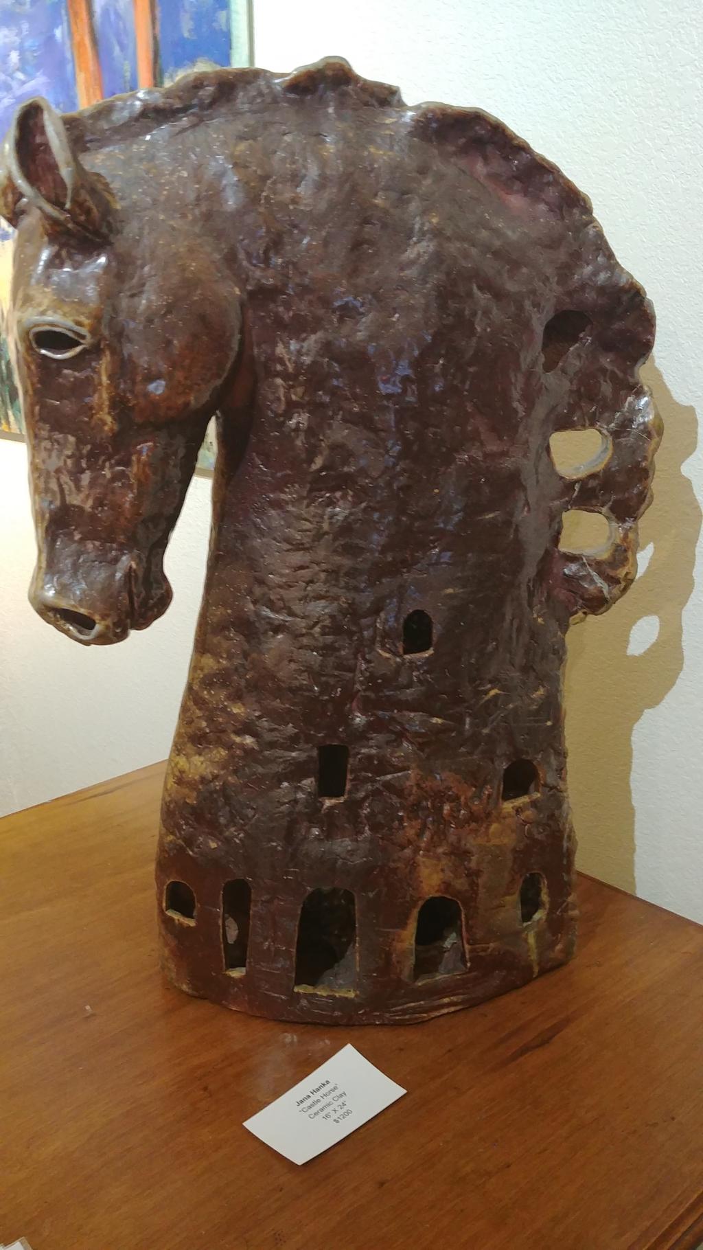 Castle Horse by Jana Hanka