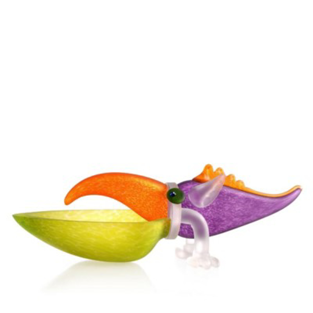 TUKAN, bowl, lime green 24-01-91 by Borowski
