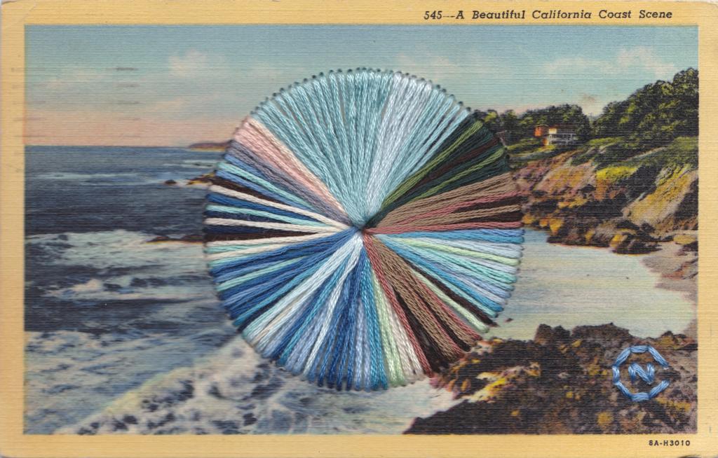California Coast by Natalie Ciccoricco