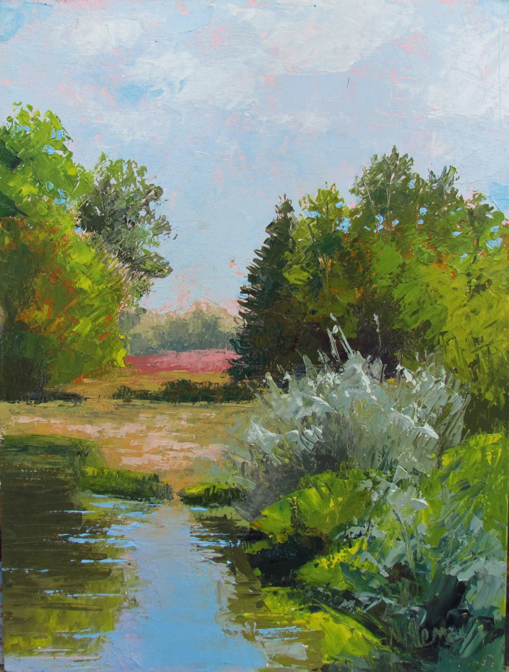 Native Water View by Patti Mollema