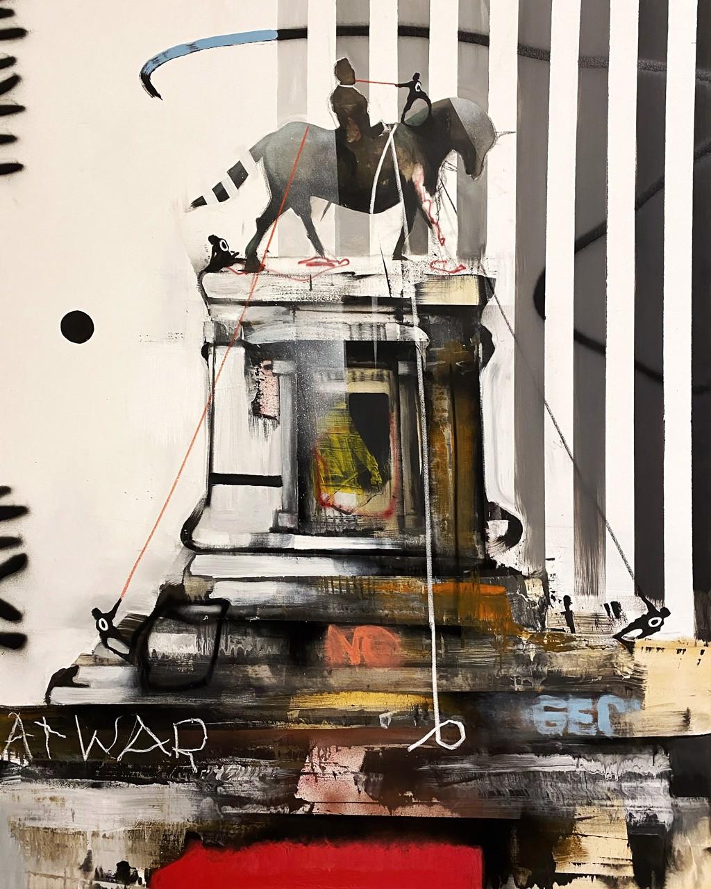 Monument Wars #7 by Marcus Jansen (b. 1968)
