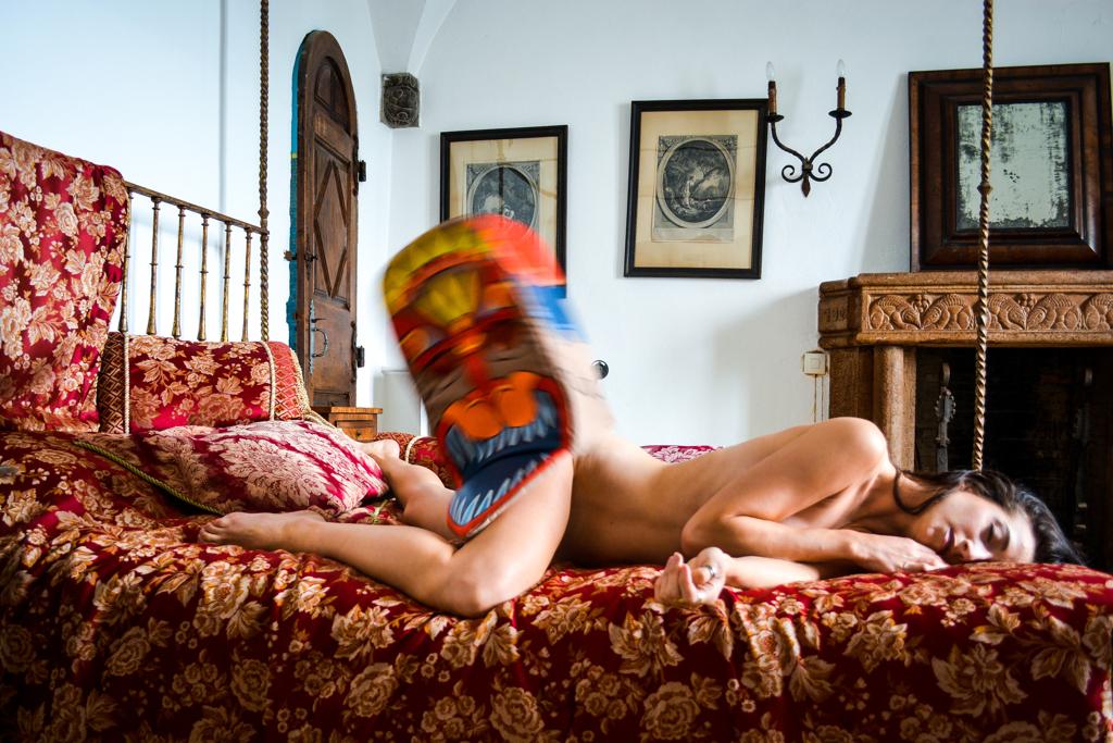 Self-Portrait in Isolation No. 1 by Rachel Berkowitz