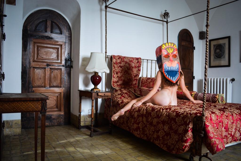 Self-Portrait in Isolation No. 5 by Rachel Berkowitz