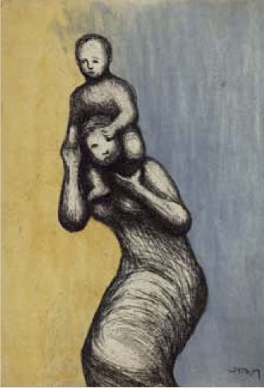 Mother and Child VIII by Henry Moore