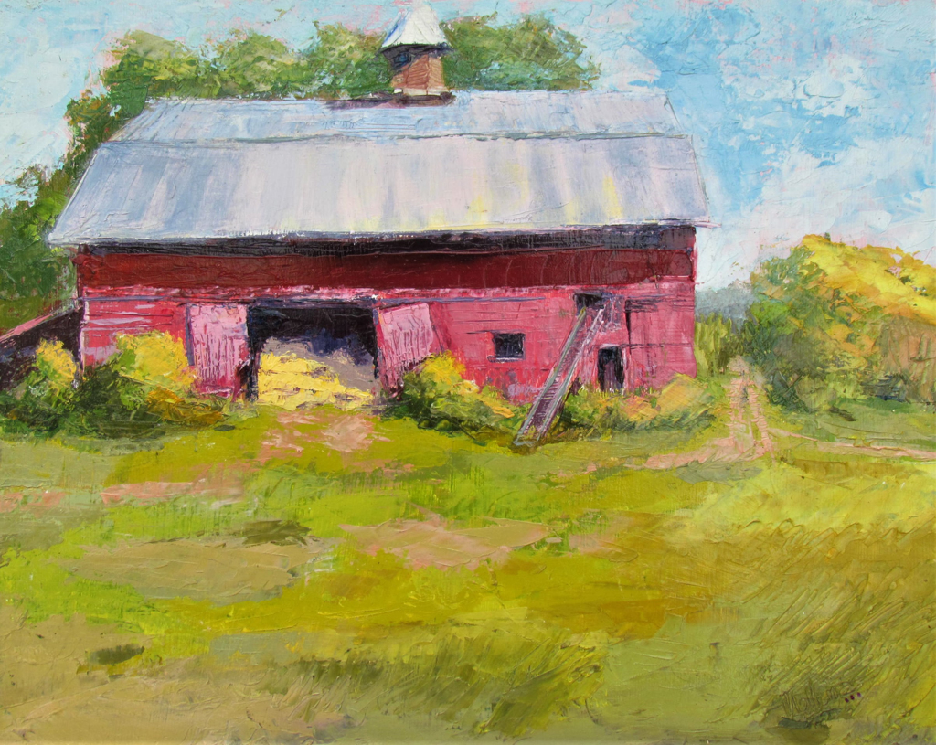 Barn at Ready by Patti Mollema