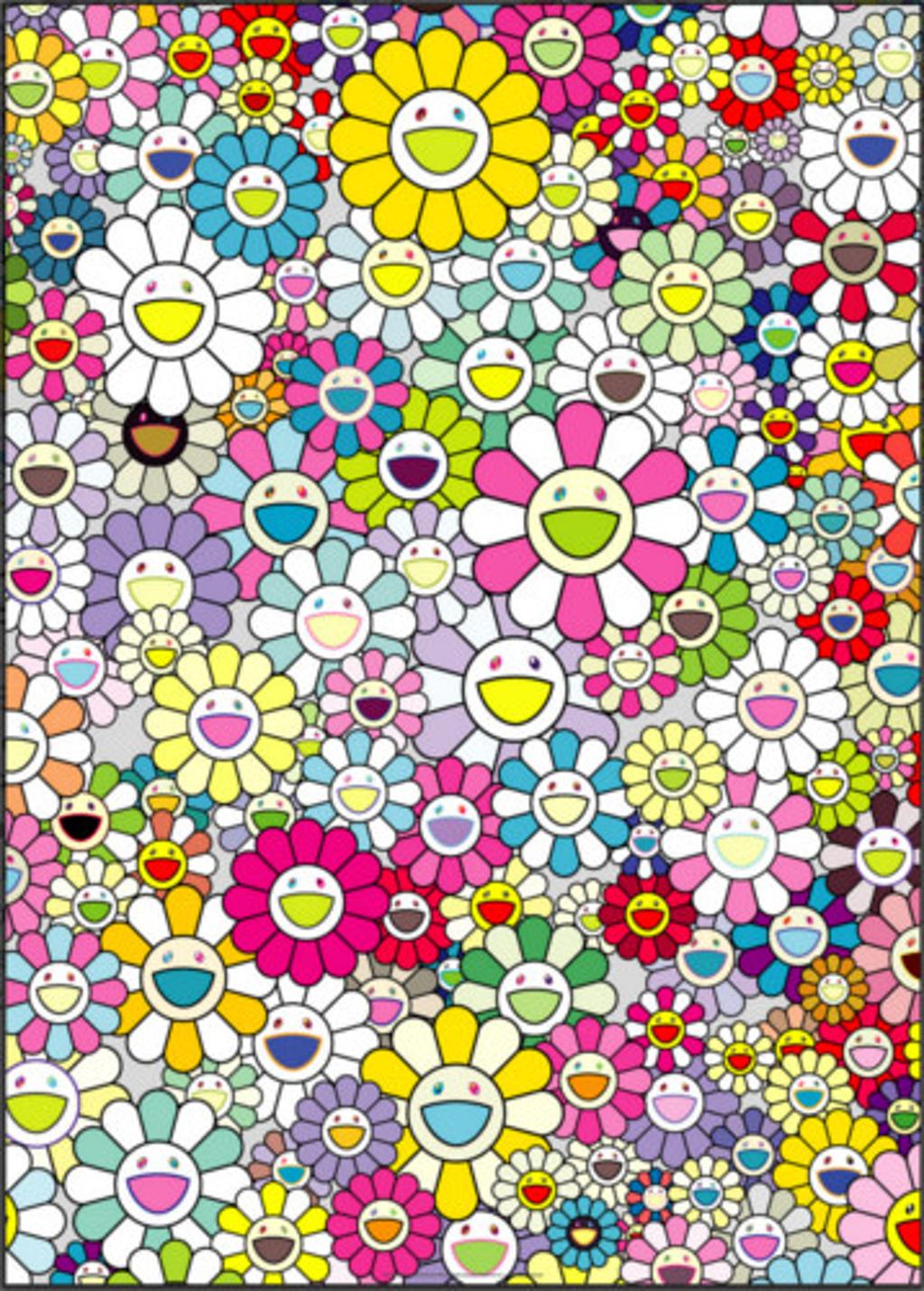 Shangri-La Shangri-La Multicolor by Takashi Murakami (b. 1962)
