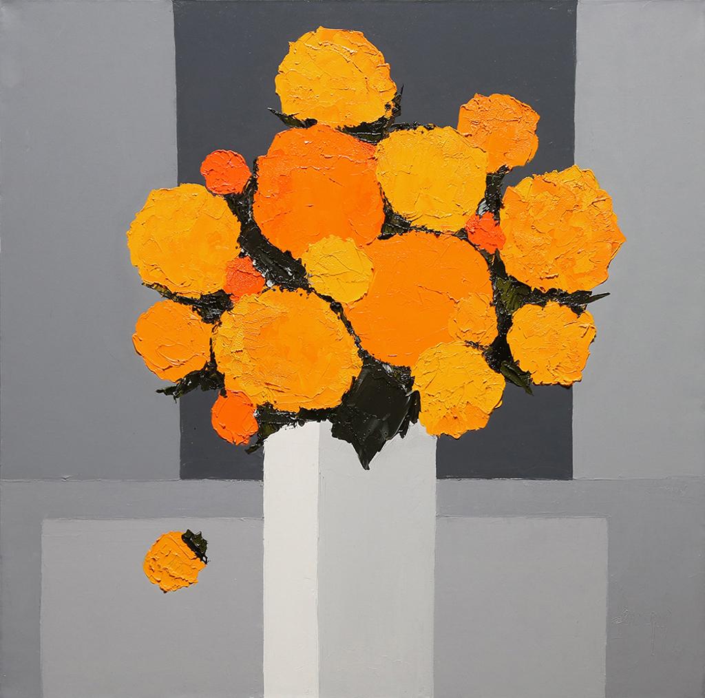 Les Roses D'Inde by Marcel Demagny