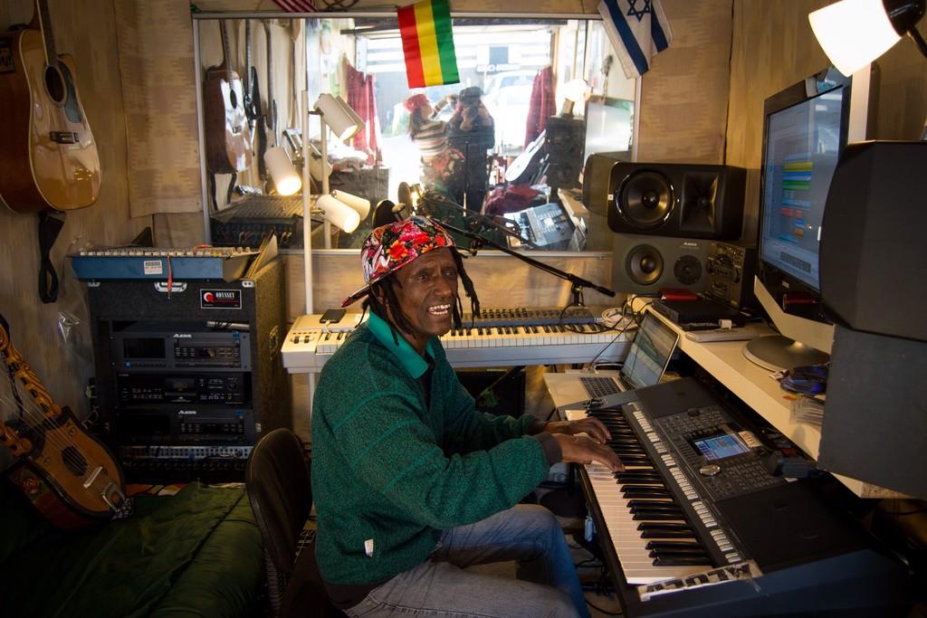 Alula, Ethiopian Jewish Musician by Rachel Berkowitz