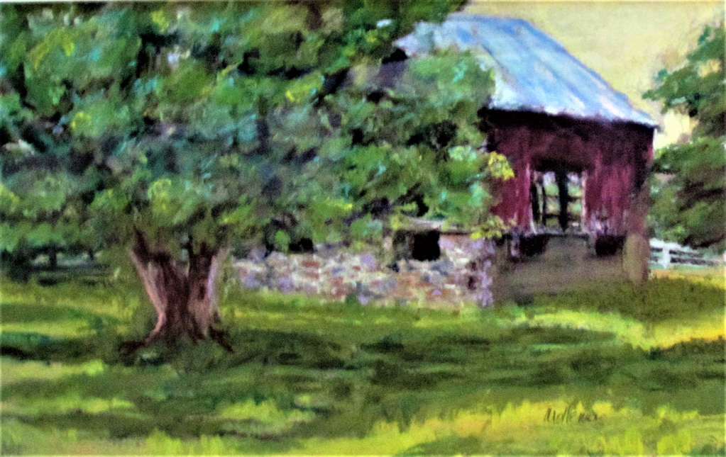Old, Airy Barn by Patti Mollema