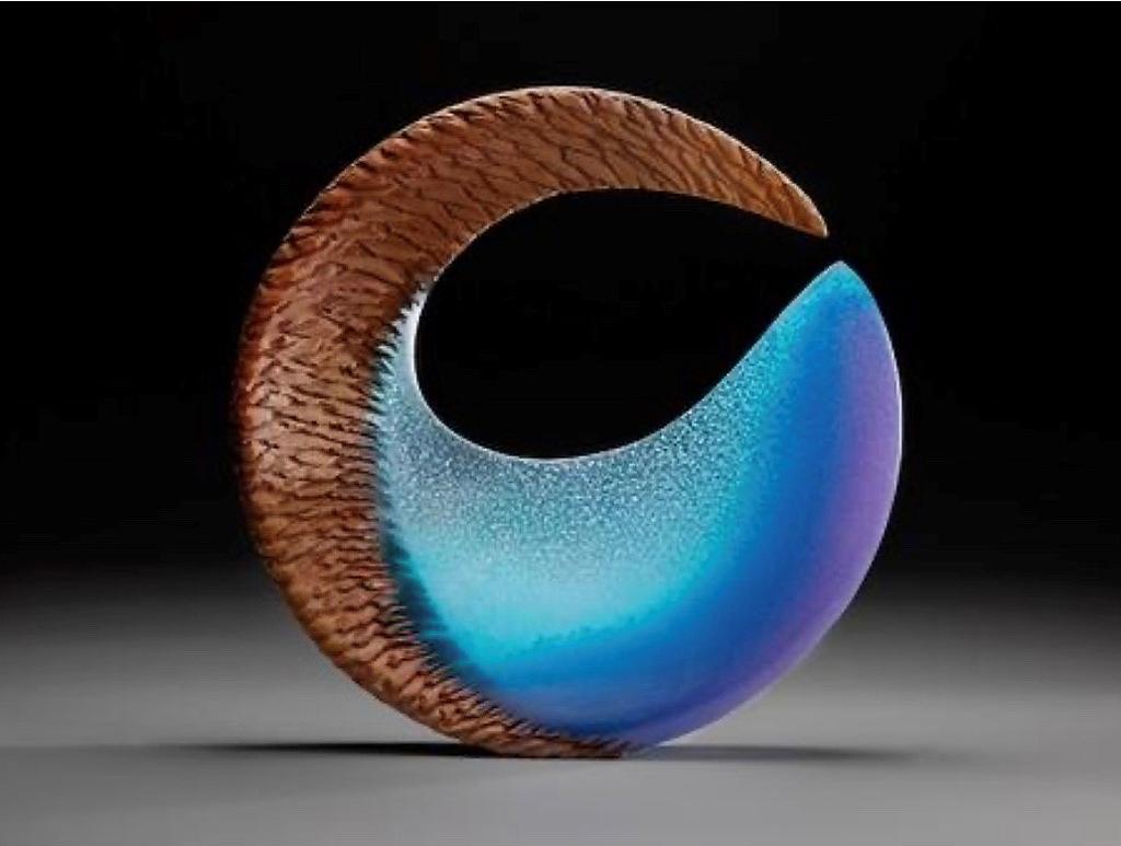 Aqua Fin by Alex Gabriel Bernstein (b. 1972)
