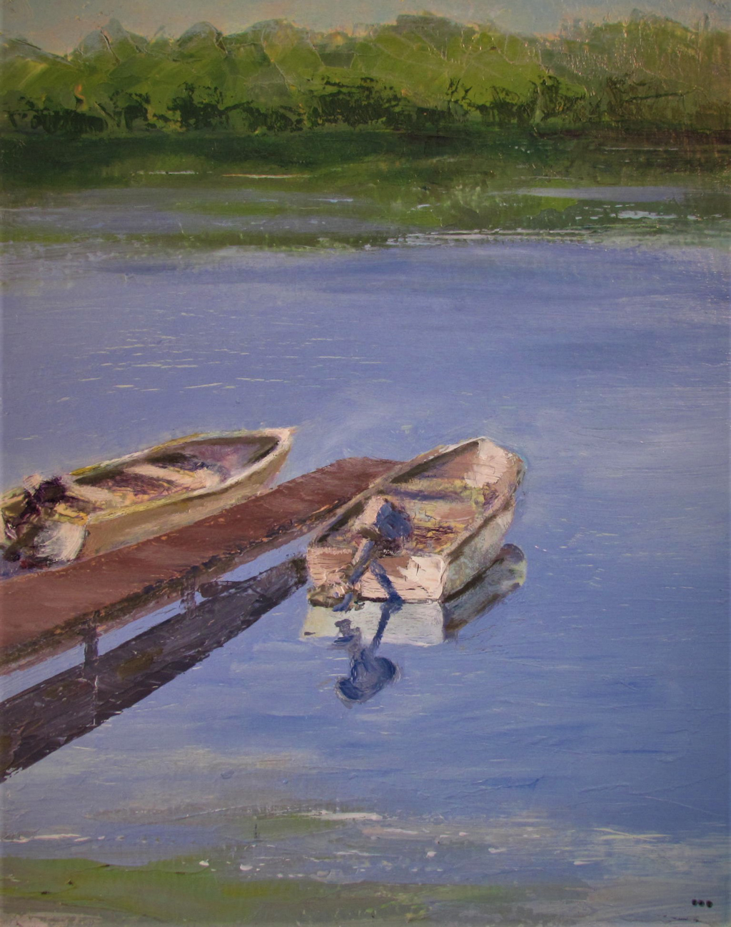 Easy Afternoon Boats by Patti Mollema