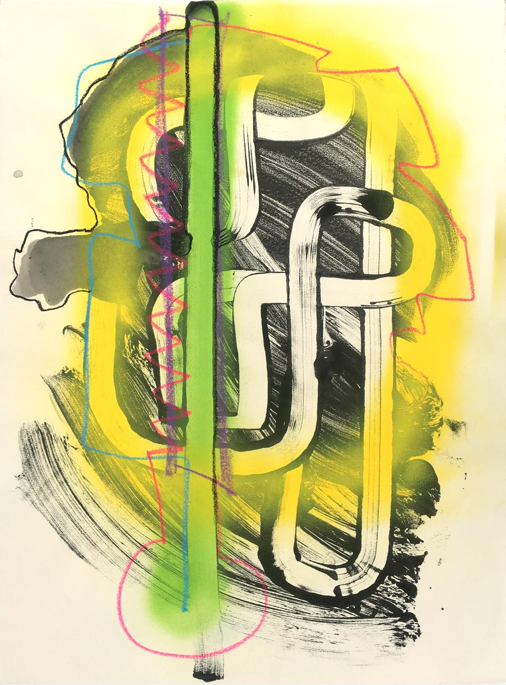 Yellow Glow by Vivian Liddell