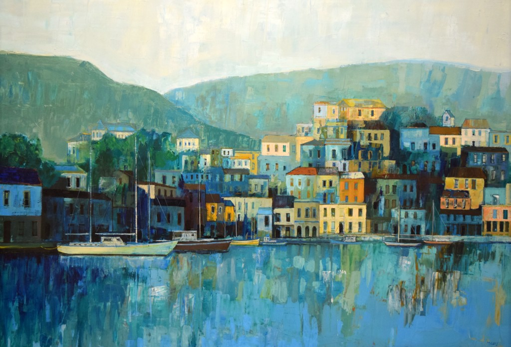 Untitled, Village Port by Herb Mears