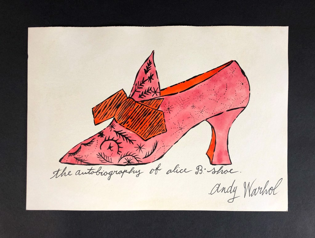 The autobiography of Alice B. shoe by Andy Warhol (1928 - 1987)