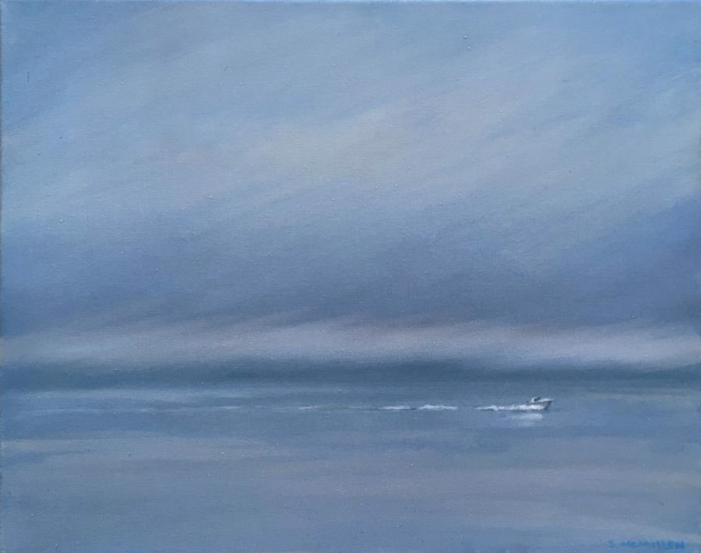 A Cloudy Boat Ride (SOLD) by Steve McMillen
