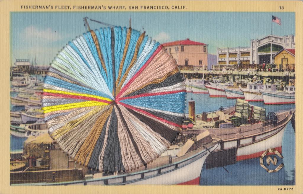 Fisherman's Wharf by Natalie Ciccoricco